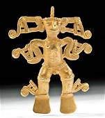 Pre-Columbian Panamanian Gold Shaman Pendant