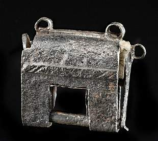17th C. Korean Iron Lock Digeut
