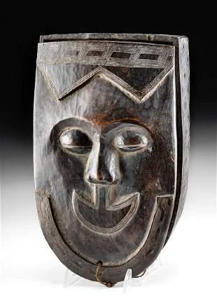 Early 20th C. Kuba Wood Box - ex Christie's