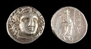 Greek Rhodian Silver Didrachm, Satraps of Pixodaros