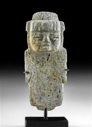 Teotihuacan Serpentine Female Figure