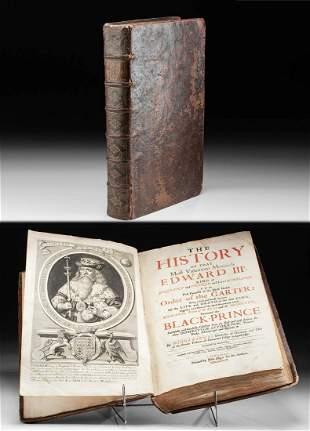 Joshua Barnes' History of Edward III, 1687