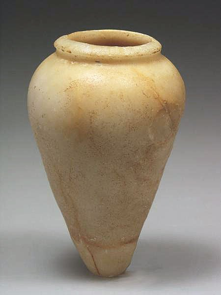 6: An Egyptian Old Kingdom 'Alabaster' Vessel