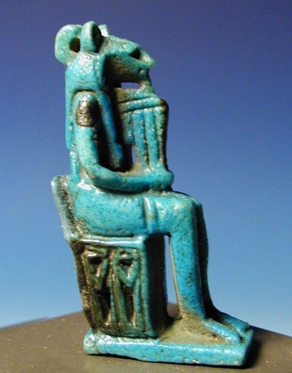 11: An Egyptian Faience Open-Work Sekhmet