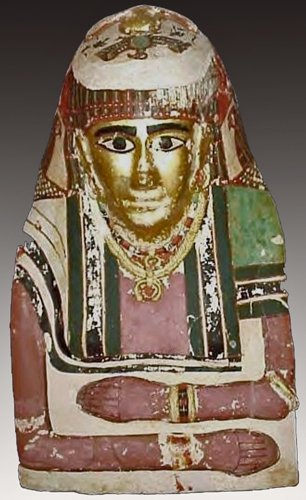 19: An Egyptian Female Mummy Mask