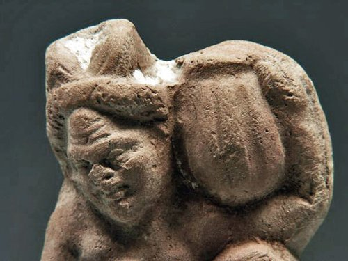 70: A Terracotta Figure of Pan