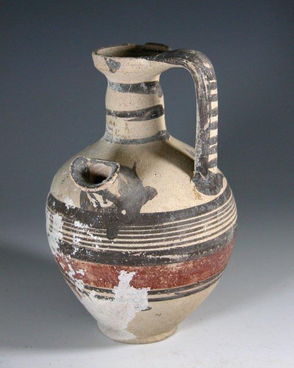 82: A Cypriot Bi-Chrome Pouring Vessel