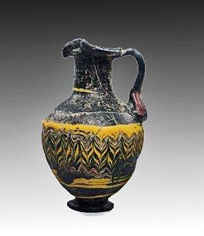 87: An East Mediterranean Glass Oinochoe