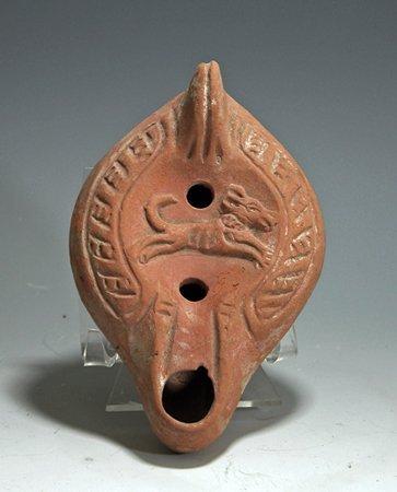 149: A Late Roman / Byzantine Oil Lamp