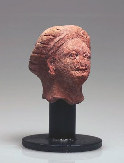 73A: A Roman-Egyptian Head of a Woman