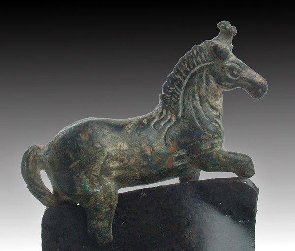 109: A Greco-Roman Bronze Horse