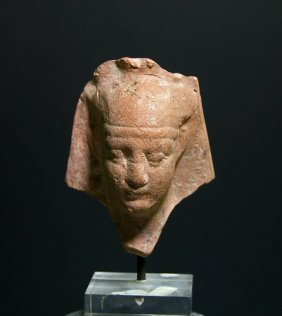 A Ptolemaic Head Of Pharaoh, Ex-Royal Athena