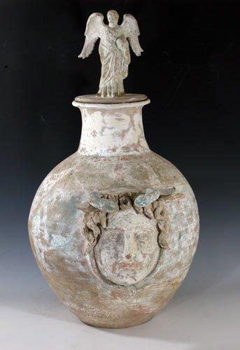 108D: A Hellenistic Terracotta Askos - Huge!