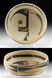 13th C. Ancestral Puebloan Jeddito Bowl w/ TL Test