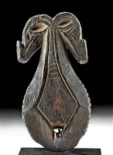 Late 19th C. Indonesian Sumba Wood Abstract Figure