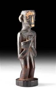 19th C. Ngaju Dayak Wood Medical Charm Figure