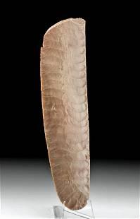 Rare Egyptian Predynastic Naqada III Flint Knife Blade