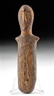 Rare Ancient Alaskan Bering Sea Walrus Ivory Figure