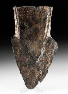 Roman Iron Adze Head