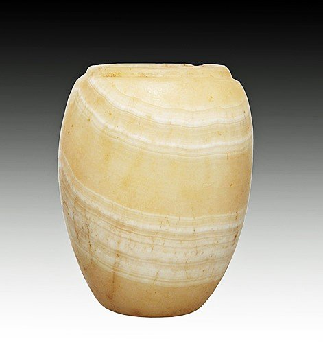 4: An Egyptian Alabaster Jar