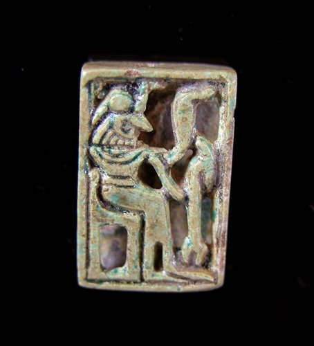 11: A Rare Carved Steatite Egyptian Amulet