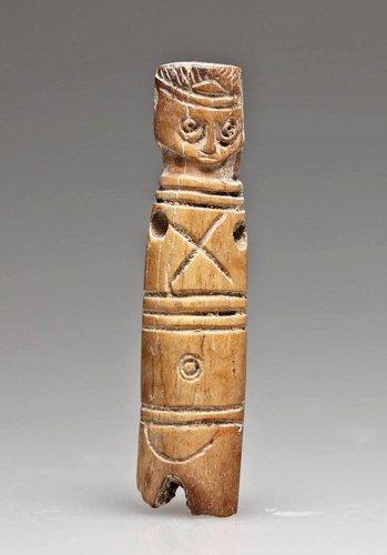77: An Egyptian Coptic Bone Doll