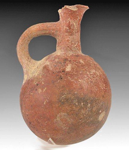 80: A Cypriot Redware Juglet