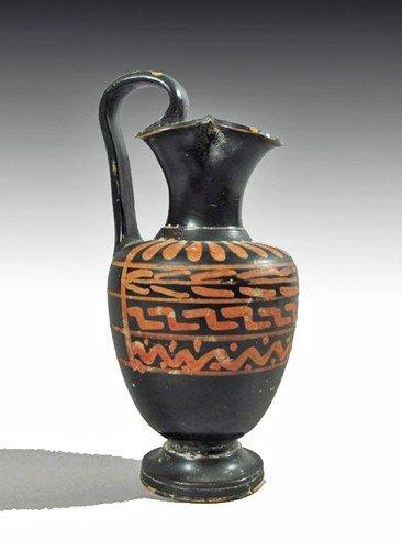 110: An Apulian Xenon Ware Oinochoe
