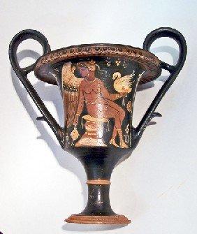An Apulian Red-Figure Kantharos