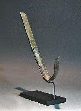 A Roman Bronze Strigil