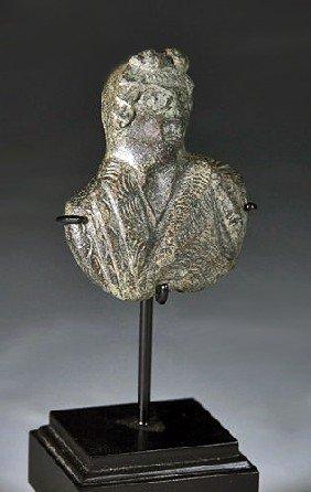 A Roman Bronze Bust - 1st Century