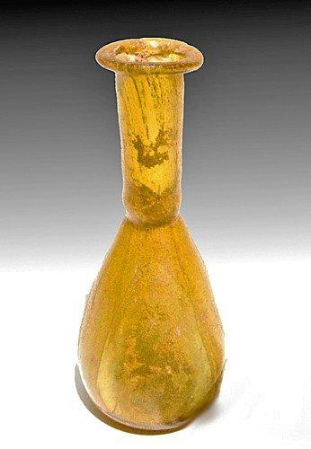 184: A Beautiful Roman Glass Flask