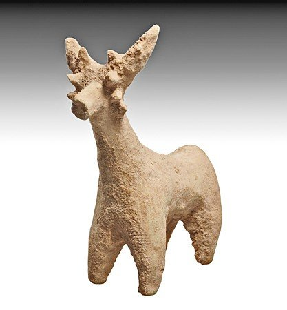 197: A Large Syrian Terracotta Animal