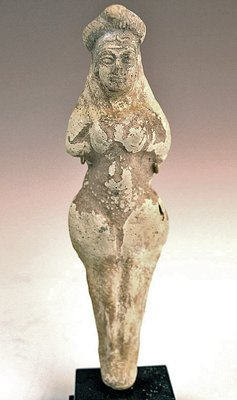 202: A Sumerian Terracotta Figurine of Inanna