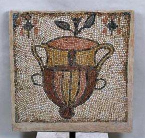 187A: A Late Roman to Byzantine Mosaic Panel