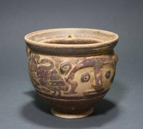 A Rare Corinthian Face Cup - Ex Sotheby's