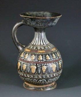 A Greek Apulian Sprinkler Vessel