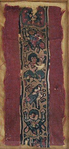 43: An Egyptian Coptic Textile Figural Panel