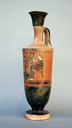 50: A Large Greek Black Figure Lekythos