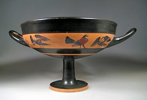 51: An Attic Kylix, Circle of the Tleson Painter