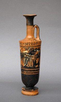 53: A Greek Black Figure Lekythos - Haemon Painter
