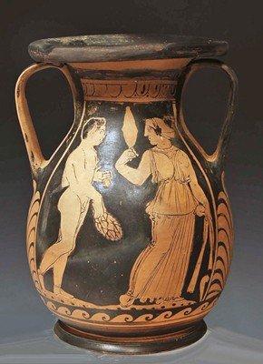 59: A Greek South Italian Red Figure Pelike