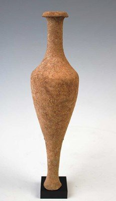 62: A Fine Greek Pottery Spindle Vessel