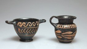 A Pair Of Greek South Italian Vessels