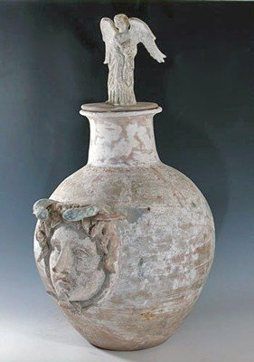 77: A Canosan Funerary Askos - Huge!