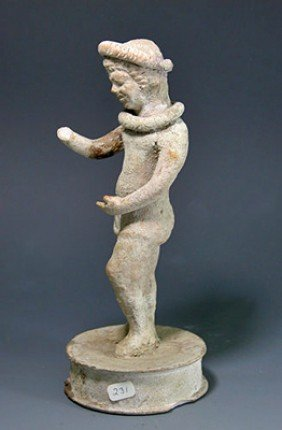 A Greek Hellenistic Actor Figure, Ex-Christie's