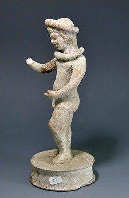 79: A Greek Hellenistic Actor Figure, Ex-Christie's