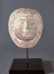 80: A Greek Hellenistic Maskette of Goddess