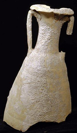 86: A Massive Roman Pottery Amphora Section