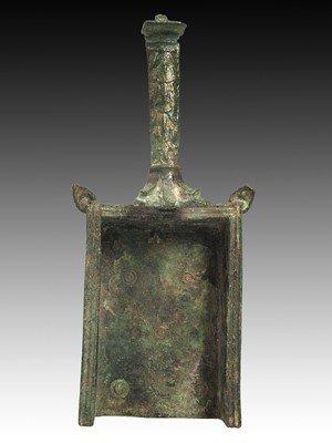 92: A Roman Bronze Incense Scoop